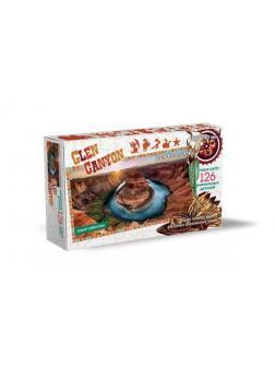Пазл Нескучные игры Travel Collection Глен-Каньон 126 деталей, фигурный, деревянный