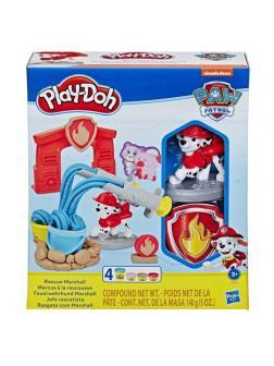 Набор для творчества Hasbro Play-Doh для лепки Щенячий патруль Маршалл