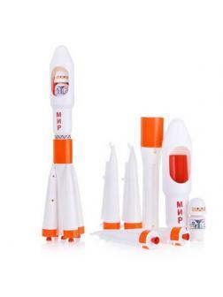 Ракета Мир (Детский сад) 7,5х7,5х39,5 см.