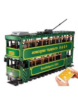 Конструктор KONSEPT «Гонконгский трамвай с ДУ» KB120 / 2528 деталей
