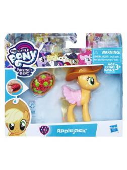 Фигурка Hasbro My Little Pony. Пони Волшебный сюрприз 3 вида: Рарити, Эплджек, Старлайт