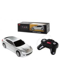 Машинка на радиоуправлении RASTAR Porsche Panamera цвет серебряный, 1:24