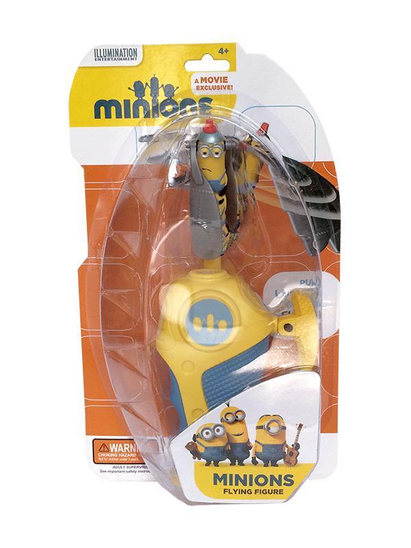 Minions Летающий герой мини в наборе с запускающим устройством, 15,8х6х27см