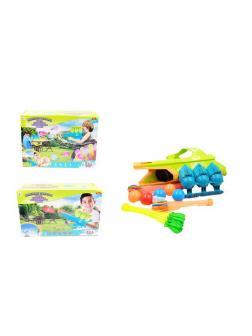 Бластер для запуска водных бомбочек и мячей 3 в 1 Веселые забавы, 2 вида PT-00866 / ABtoys