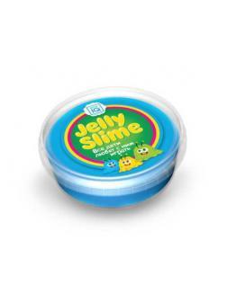 Слайм Master IQ Jelly Slime готовый синий с блестками