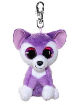 Брелок Волк Susi, фиолетовый, 8,5 см.