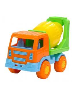 Автомобиль бетоновоз Tёма 16,5х8,3х11,3 см