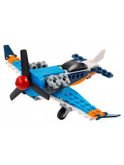Конструктор LEGO Creator 3в1 «Винтовой самолёт» 31099 / 128 деталей
