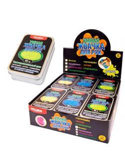 Игрушка-антистресс PAULINDA Жвачка для рук Термочувствительные цвета, объем 80 гр.,