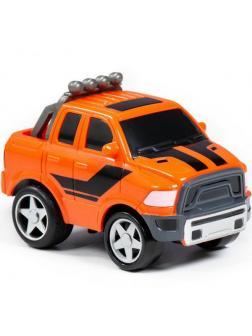 Автомобиль Крутой Вираж гоночный 4 инерционный (в коробке)