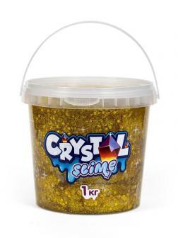 Слайм Slime Crystal золотой, 1 кг