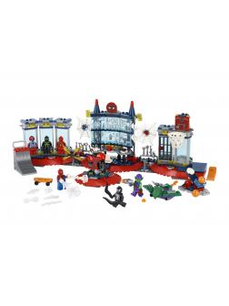 Конструктор LEGO Super Heroes «Нападение на мастерскую паука» 76175 / 466 деталей