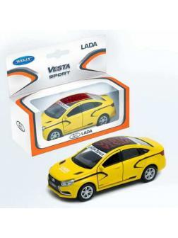 Машинка металлическая 1:34-39 LADA Vesta sport