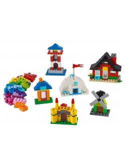 Конструктор LEGO Classic «Кубики и домики» 11008 / 270 деталей