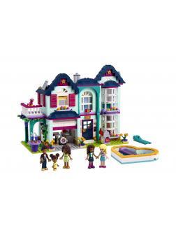 Конструктор LEGO Friends «Дом семьи Андреа» 41449 / 802 детали