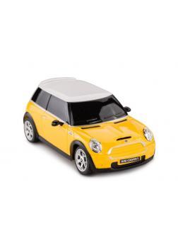 Машинка на радиоуправлении RASTAR MINI, цвет жёлтый 27MHZ, 1:24
