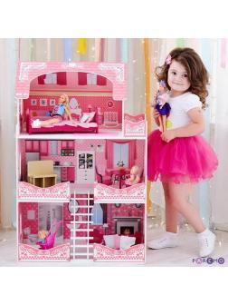 Дом кукольный PAREMO &