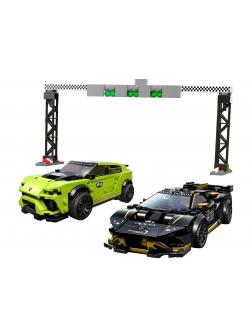 Конструктор LEGO Speed Champions «Lamborghini Urus ST-X & Lamborghini Huracan Super Trofeo EVO» 76899 / 663 детали