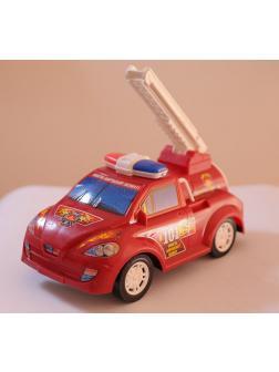 Машина пожарная, инерционная, 16х30,5х16,5см