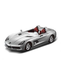 Машинка на радиоуправлении RASTAR Mercedes-Benz SLR, цвет серебряный 40MHZ, 1:12