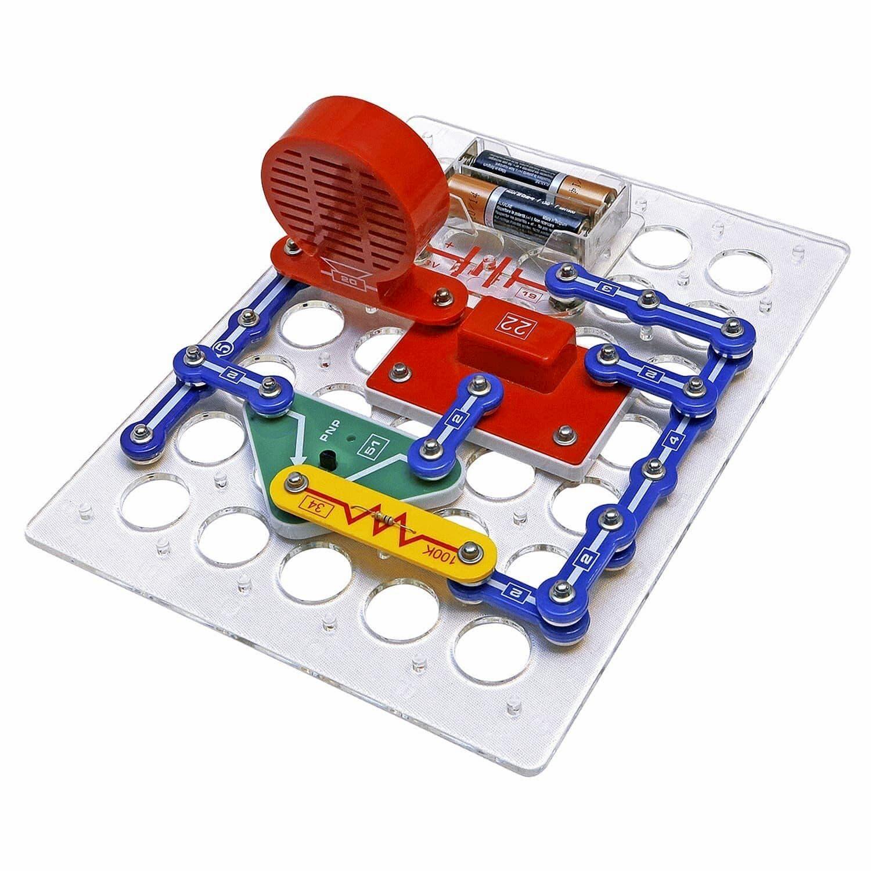 Электронный конструктор Знаток «Первые шаги к электронике. Набор В» 70197, 15 схем