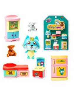 Игровой набор ABtoys Уютный дом Набор мини-мебели. Кухня