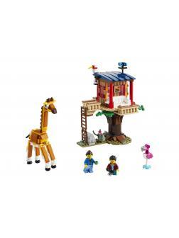 Конструктор LEGO Creator 3в1 «Домик на дереве для сафари» 31116 / 397 деталей