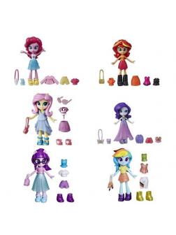Фигурка Hasbro My Little Pony Девочка-мини из эквестрии с нарядами