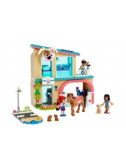 Конструктор LEGO Friends «Ветеринарная клиника Хартлейк-Сити» 41446 / 258 деталей