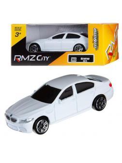 Машинка металлическая Uni-Fortune RMZ City 1:64 BMW M5, Цвет Белый