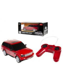 Машинка на радиоуправлении RASTAR Range Rover Sport 20см, красный 27MHZ 1:24