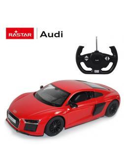 Машинка на радиоуправлении RASTAR AUDI R8 2015 Version, цвет красный, 1:14