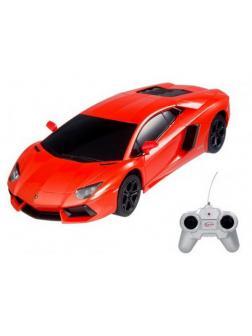 Машинка на радиоуправлении RASTAR Aventador LP700, цвет оранжевый, 1:24