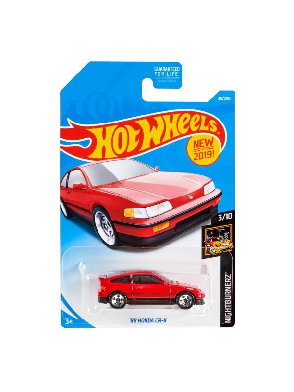 Машинка Базовая модель Hot Wheels «'88 Honda CR-X» 3/10