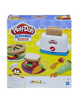 Набор для творчества Hasbro Play-Doh для лепки Тостер