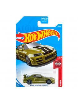 Машинка Базовая модель Hot Wheels «Nissan Skyline GT-R (BNR 34)» 2/5