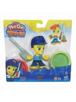 Набор для творчества Hasbro Play-Doh Town для лепки Фигурки 8 видов