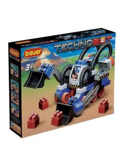 Конструктор Bauer Technobot с роботом и пилотом белый, голубой, серый