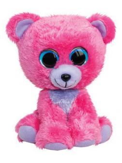 Мишка Raspberry, розовый, 24 см.