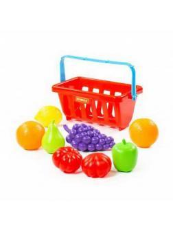 Набор продуктов с корзинкой 2 (9 элементов) (в сеточке)