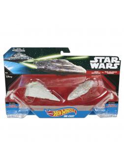 Звездные корабли Hot Wheels Star Wars «Star Destroyer vs. Mon Calamari Star Cruiser»
