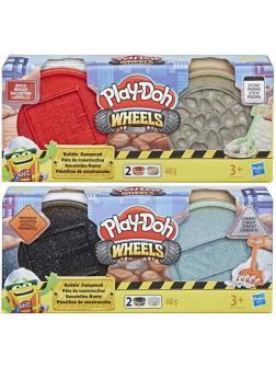 Набор для творчества Hasbro Play-Doh Wheels Специальная масса для лепки 2 вида