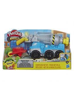Набор для творчества Hasbro Play-Doh Wheels для лепки Бетономешалка