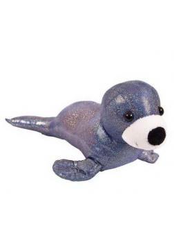 Тюлень синий, 26 см игрушка мягкая