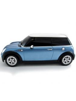 Машинка на радиоуправлении RASTAR Minicooper S, цвет синий 40MHZ, 1:18