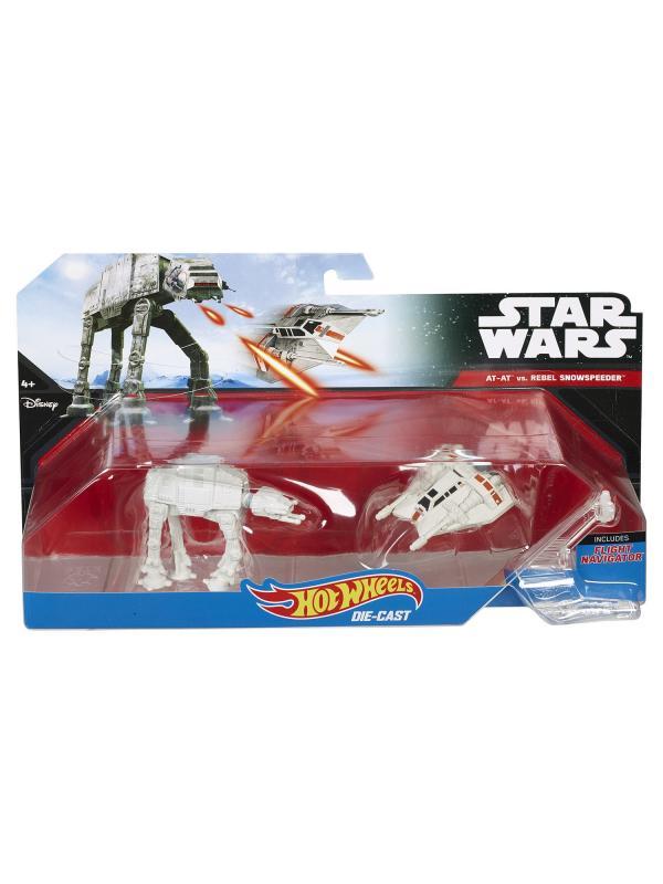 Звездные корабли Hot Wheels Star Wars «AT-AT vs. Snowspeeder»