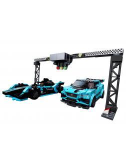 Конструктор LEGO Speed Champions «Formula E Panasonic Jaguar Racing GEN2 car & Jaguar I-PACE eTROPHY» 76898 / 565 деталей