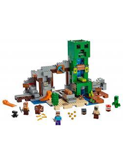 Конструктор LEGO Minecraft «Шахта крипера» 21155 / 834 детали