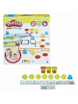 Набор для творчества Hasbro Play-Doh для лепки Числа и счет