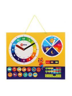 Доска On Time Мои первые часы планер, магнитная